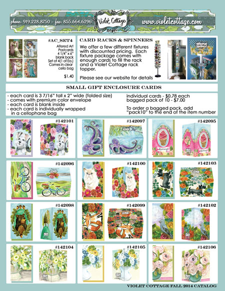 Violet cottage fall 2014 wholesale greeting card catalog order page 6 m4hsunfo